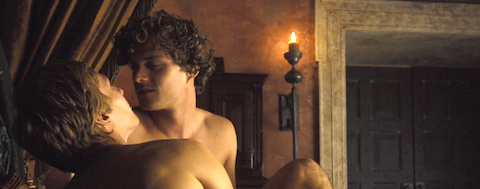 Loras and his lover Renly.