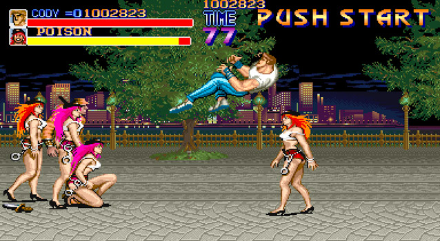 Cody Fighting Poison